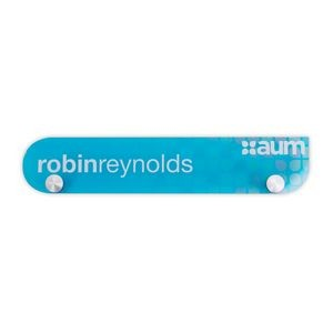 Acrylic Nameplates & Signs (16-20 Sq Inches)