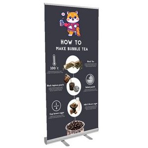 "36"" Econo Retractable Banner"