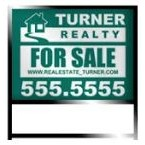 "18"" x 24"" - Aluminum Real Estate Slide In Frame Sign - Color Printed"