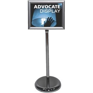 Advocate Snap Frame Sign Stand & PVC Graphic
