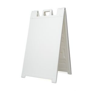"Signicade A-Frame, 36""x24"", White, WITHOUT printing"