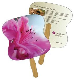 Hourglass Fast Hand Fan (2 Sides) 1 Day