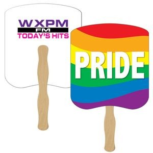 Pride Hand Fan Full Color (2 Sides)