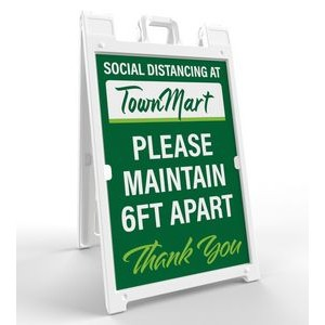 Signicade® Sign Holder (Signicade Kit- 2 Signs)
