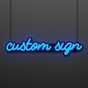 Neon Look Custom LED Sign