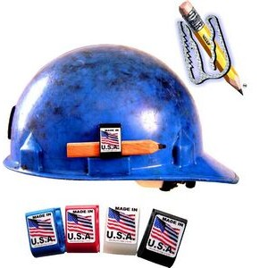 Hard Hat Adhesive Accessory Pencil Holder Clip Customized
