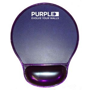 COLORFUL Gel Wrist Rest Mouse Pad - Purple