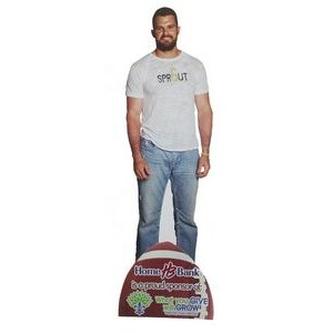 "Standee - Life size 72"" x 24"""