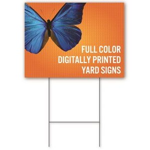 "Yard Sign 24'' x 36"" - Double-Sided"